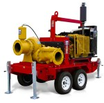 12 inch priming assited trash pump rentals