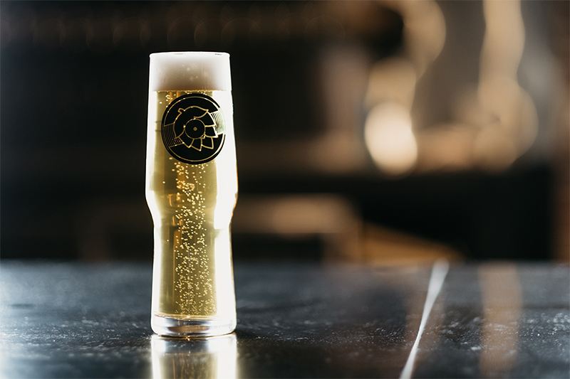Sonder Brewing beer glass