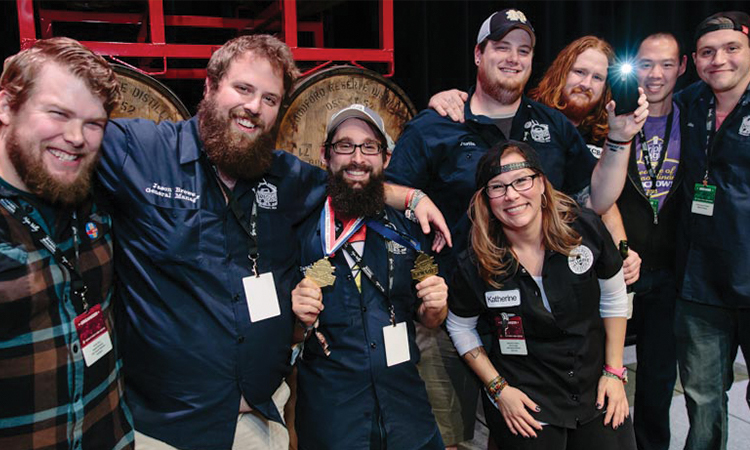 Listermann Brewing at 2016 Festival of Wood and Barrel Aged Beers