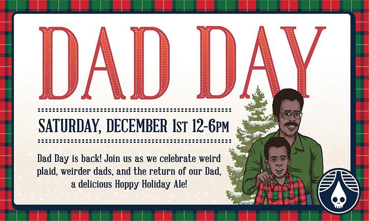 Rhinegeist Dad Day - Saturday, Dec. 1, noon-6 p.m.