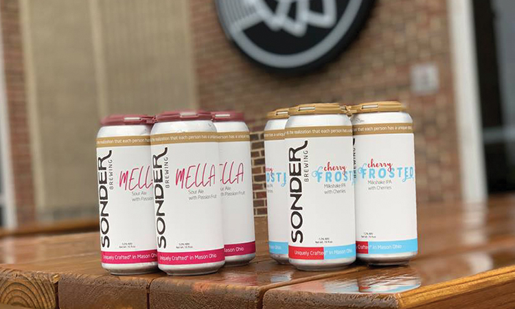 Sonder Brewing - Mella sour ale with passionfruit and Cherry Frosted milkshake IPA