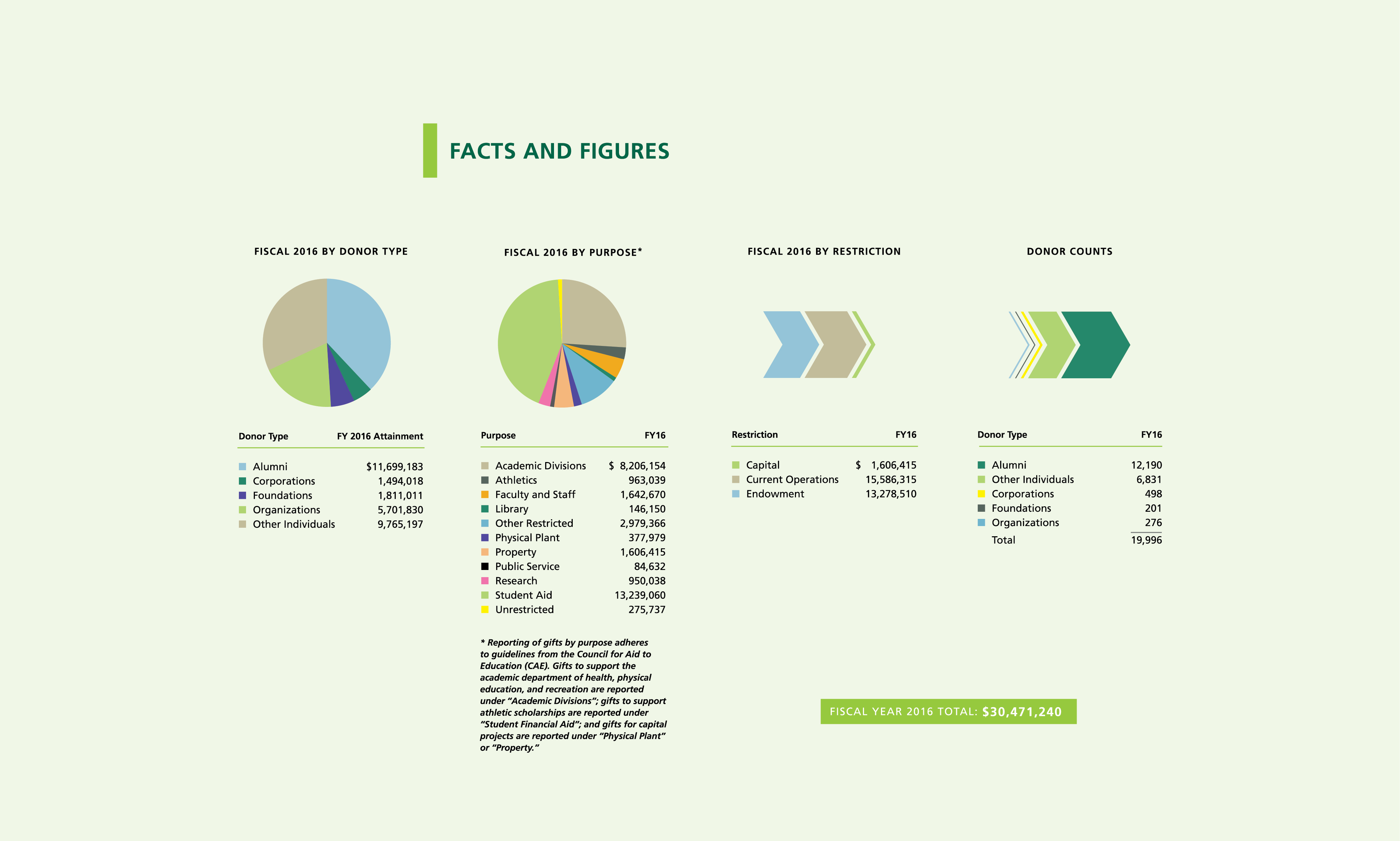 Foundation report graphics