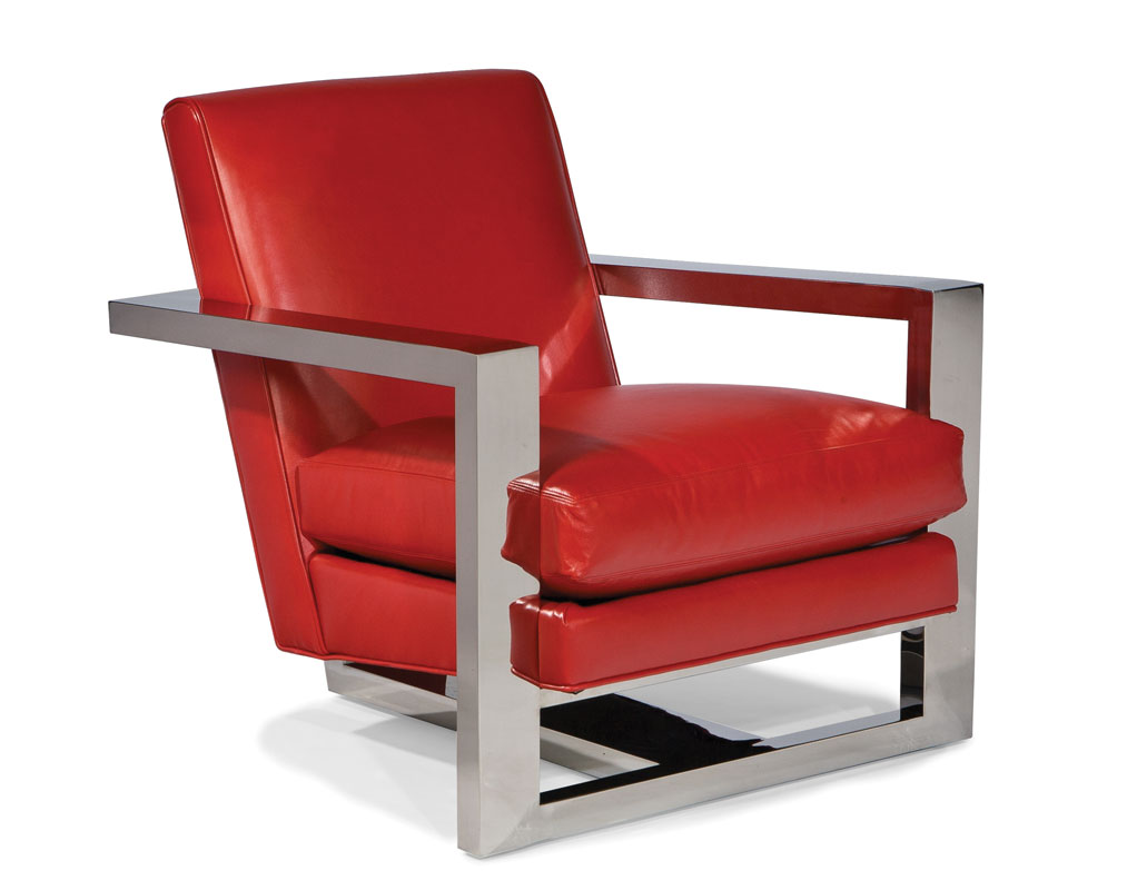 Cool Lounge Chairs Thayer Coggin 1257 103 Cool Roger Stainless Steel Lounge Chair
