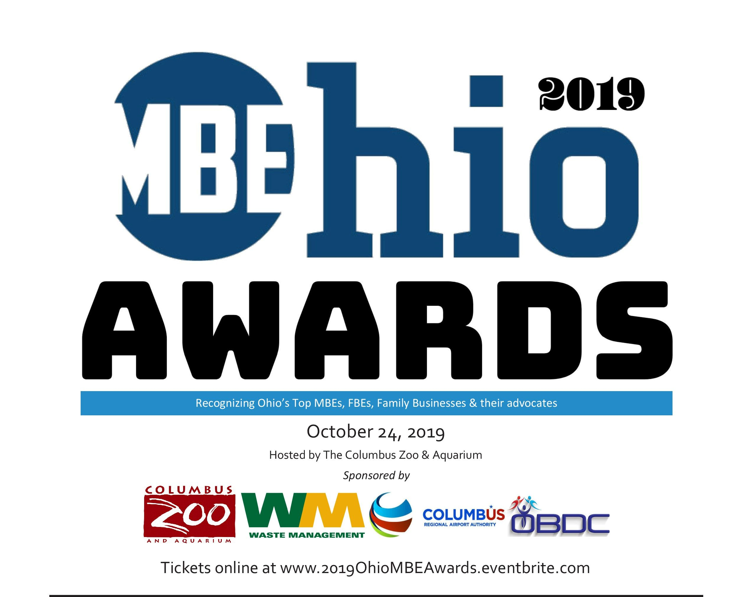 Get your Ticket to the OhioMBE Awards!