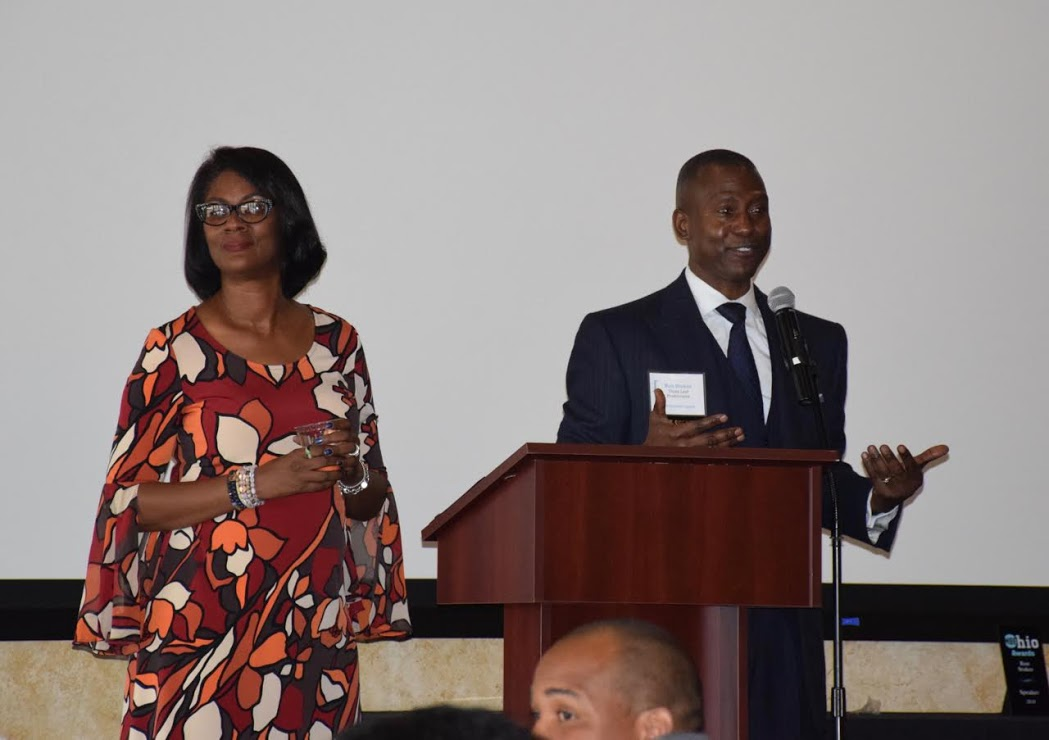 Businessman Ron Stokes was a special speaker at the 2018 OhioMBE Awards