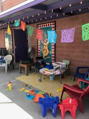 Casa Alitas reception area. Photo by Joyce Hall.