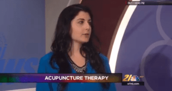 Dr Val Discussing Acupuncture on WFMJ Midday – 11-12-2015