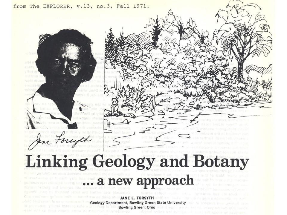 Geobotany