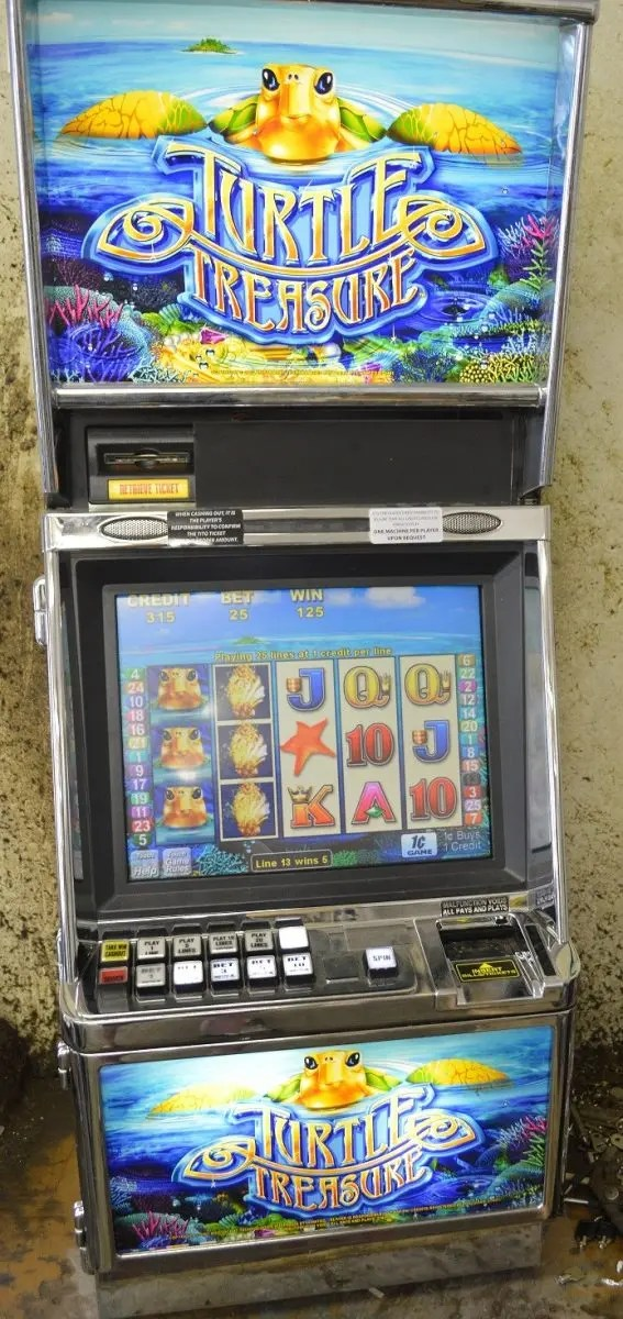 Cashman Slot Machine Stack Gold