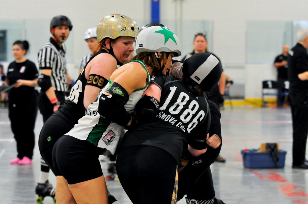 Bruss hitting wall OHRD v. Orangeville 5.3.19 Jammer Line