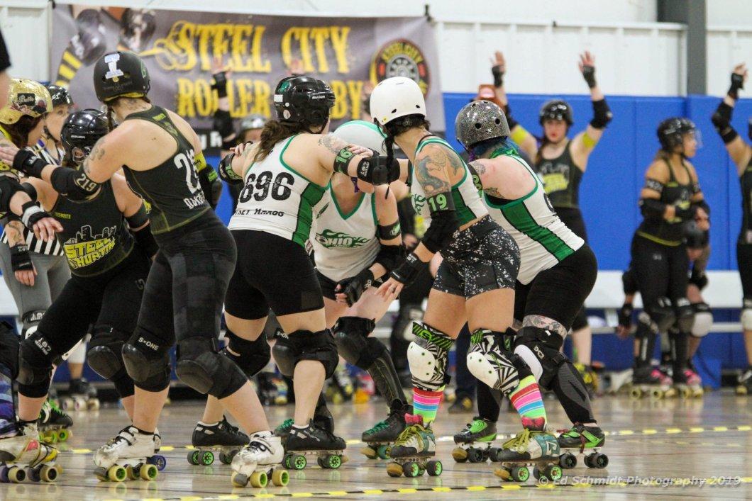 Kelsey Betty Chainsaw Klover jam start OHRD v Steel City 5.18.19 Ed Schmidt Photography