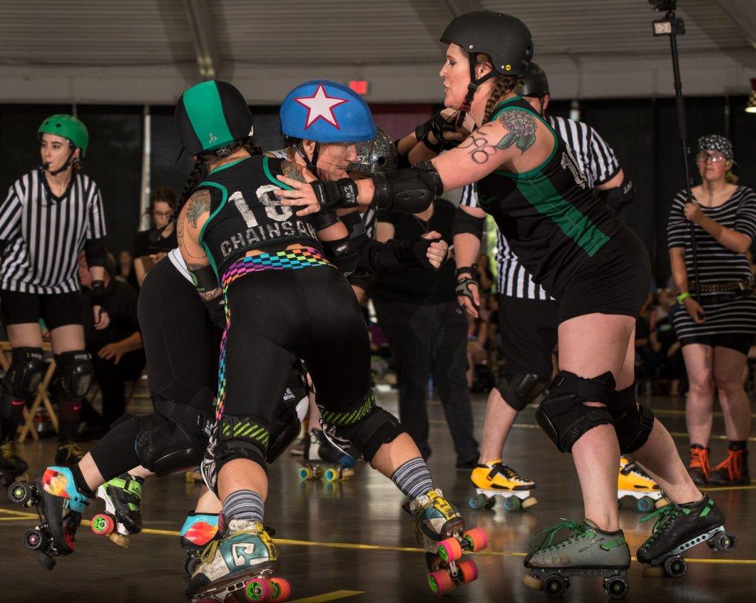 Chainsaw Amy blocking OHRD v Brandywine 6.8.19 Chris Baker