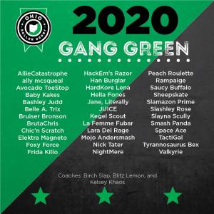 2020 Gang Green roster