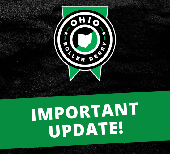 OHIO ROLLER DERBY 2020 SEASON UPDATE