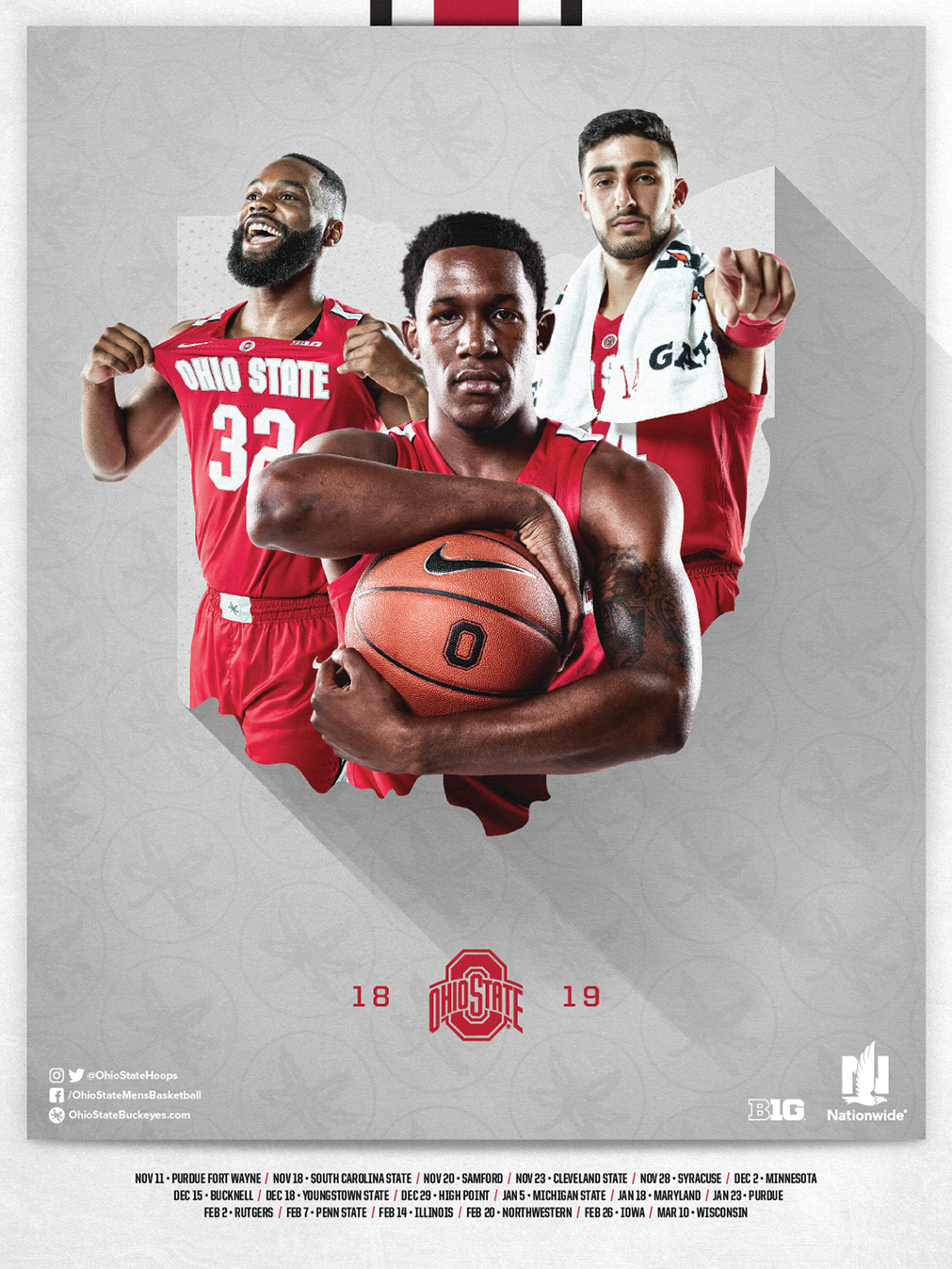 Fall Mobile Wallpapers Schedule Posters Ohio State Buckeyes
