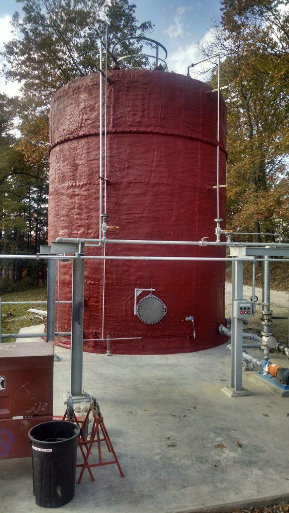 Ohio Valley Spray Foam - Tank Insulation