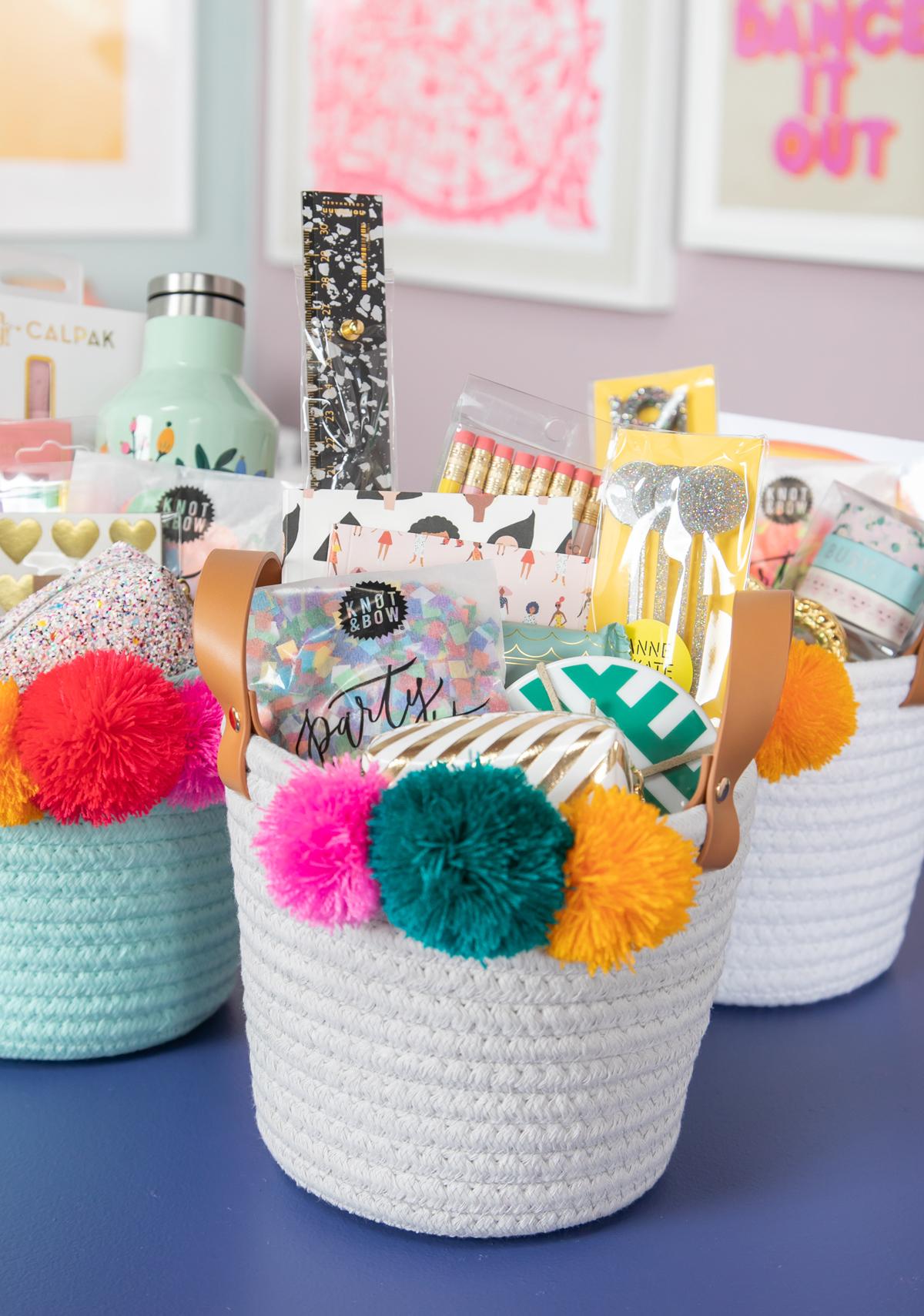 gift baskets for teachers
