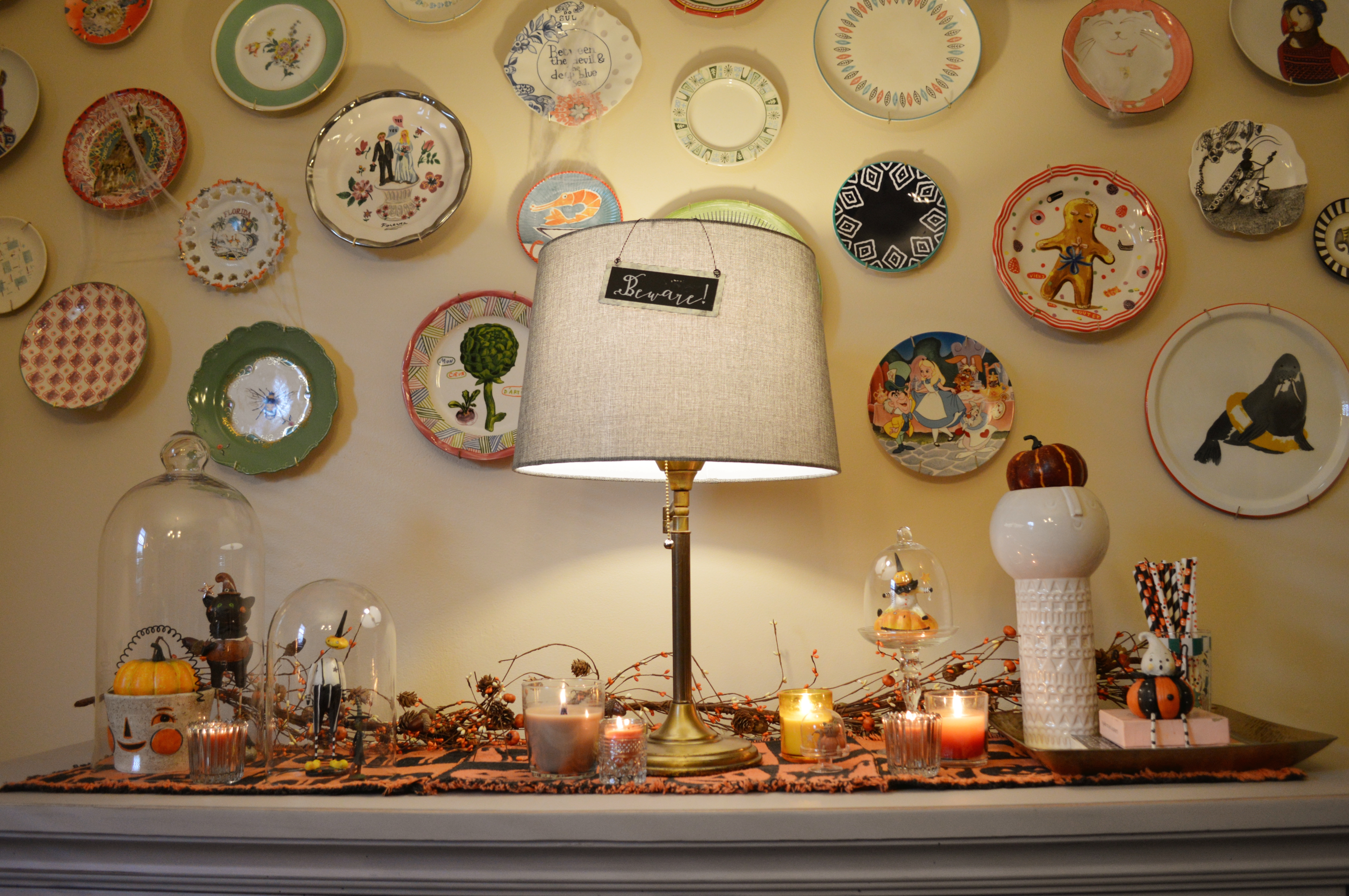 The stores are starting to put out halloween gear. Pretty Pumpkins Halloween Dining Room Decor With Gordmans Oh Julia Ann