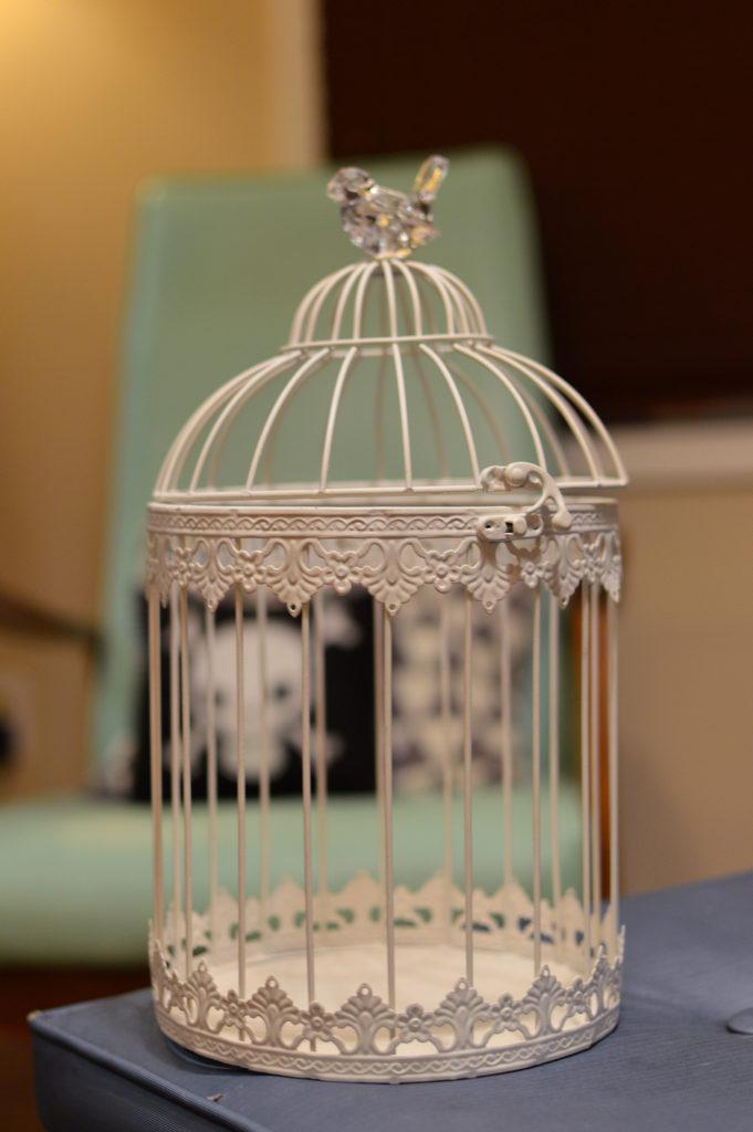 Birdcage Into DIY Halloween Centerpiece Oh Julia Ann