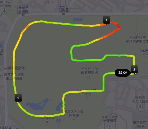Nike 光が丘03k