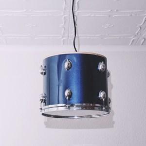 Luminaire suspendu caisse claire batterie pearl