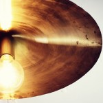Luminaire suspendu cymbale pearl