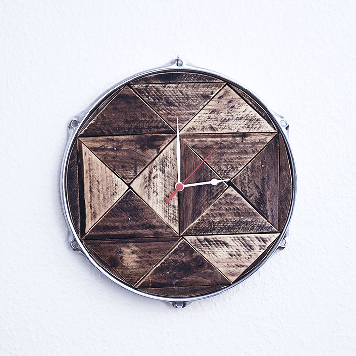 Horloge palette batterie pearl