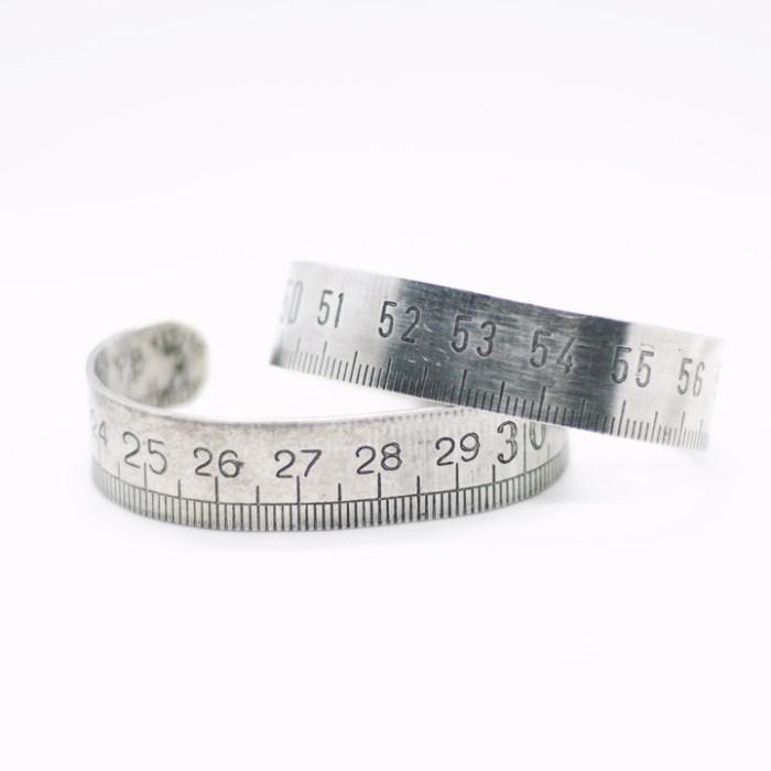 bracelet metre en metal
