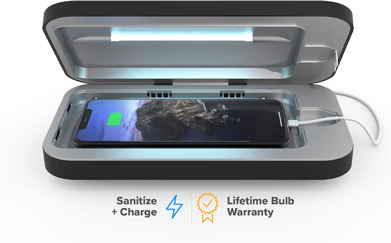 UV sanitizer for cell phone