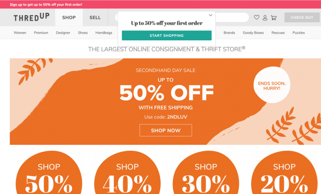 Thred Up Sell Used Clothing Online