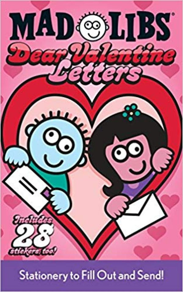 Mad Libs Valentines Gift