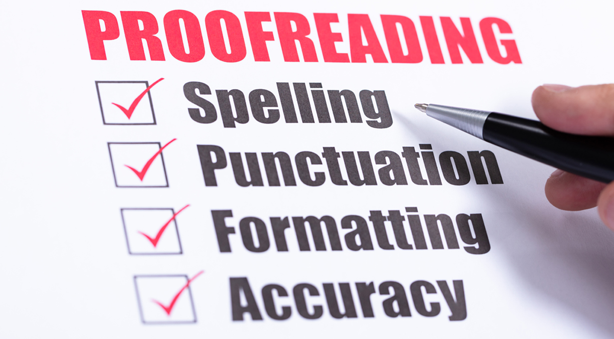 proofreading jobs online