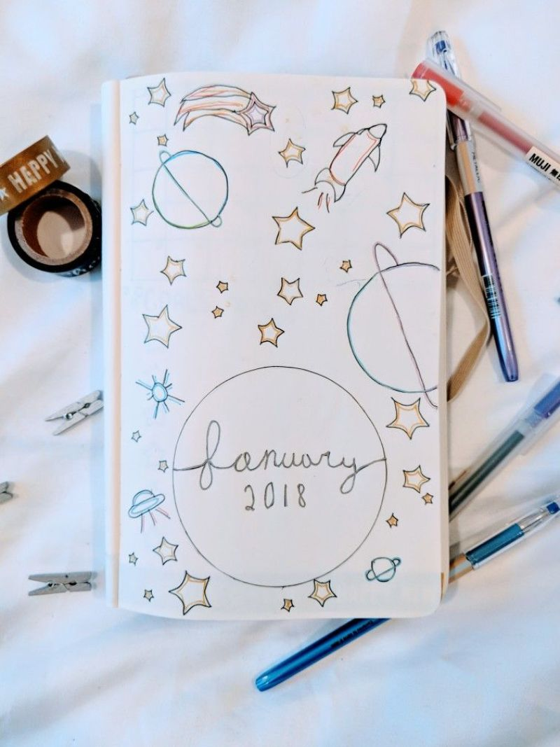 January Month Cover