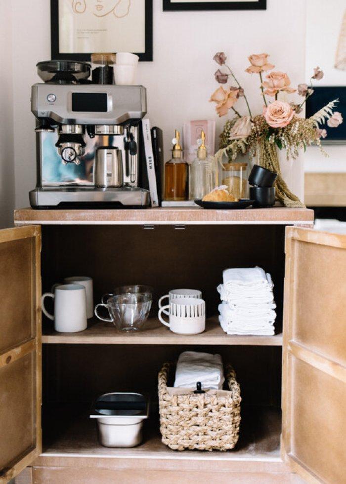Beautiful Espresso Bar Table