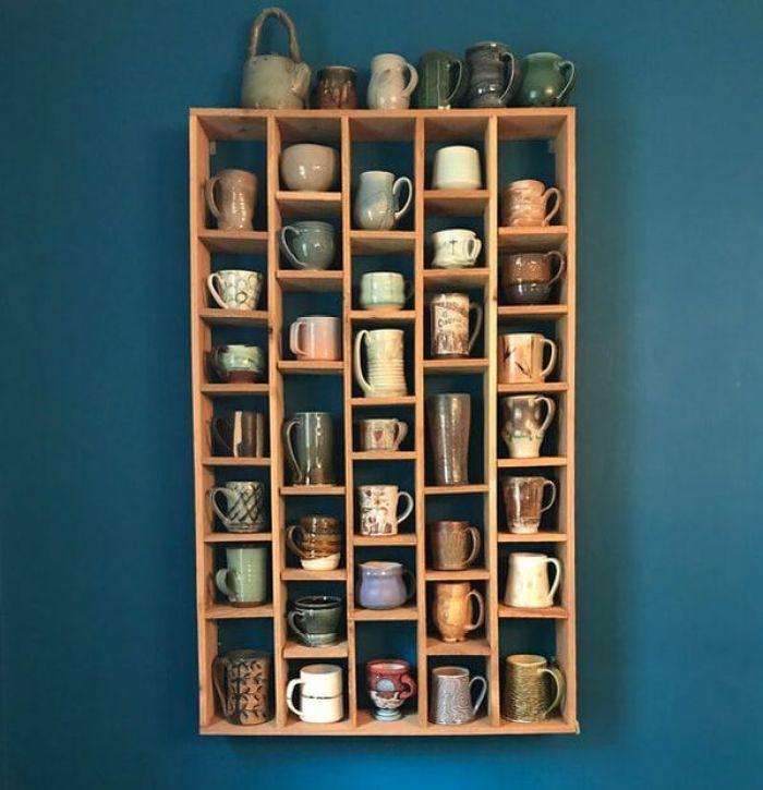 Coffee Mug Shelf Project