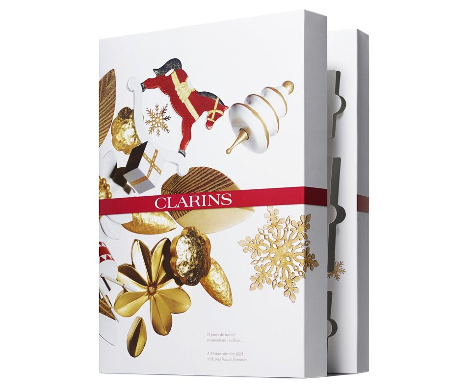 Clarins Calendario dell'Avvento 2019
