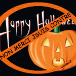 Happy Halloween joyeux halloween in France