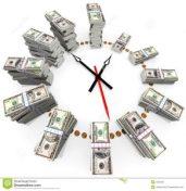 French expression: le temps c'est de l'argent