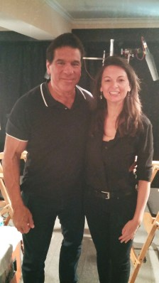 Lou Ferrigno the Incredible Hulk!