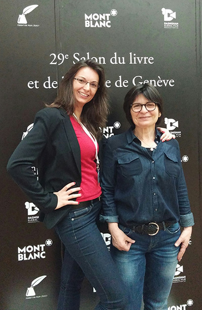 Stephanie-Batailler_Martine-Schmidhalter_Montblanc_party_Book_fair_Geneva_2