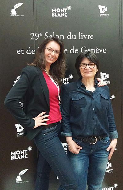 Stephanie-Batailler_Martine-Schmidhalter_Montblanc_party_Book_fair_Geneva_2