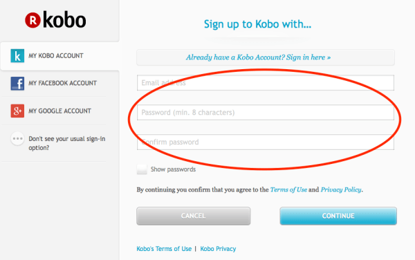 Kobo_create an account_2