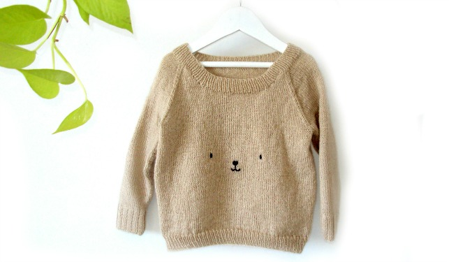 Basic Baby Sweater KNITTING PATTERN
