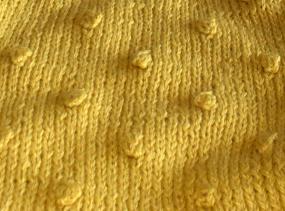 Popcorn stitch pattern