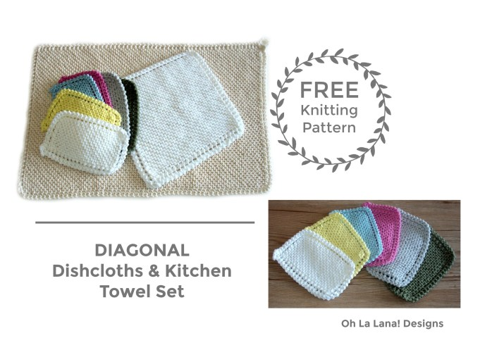 BLOG - DIAGONAL Dishcloths