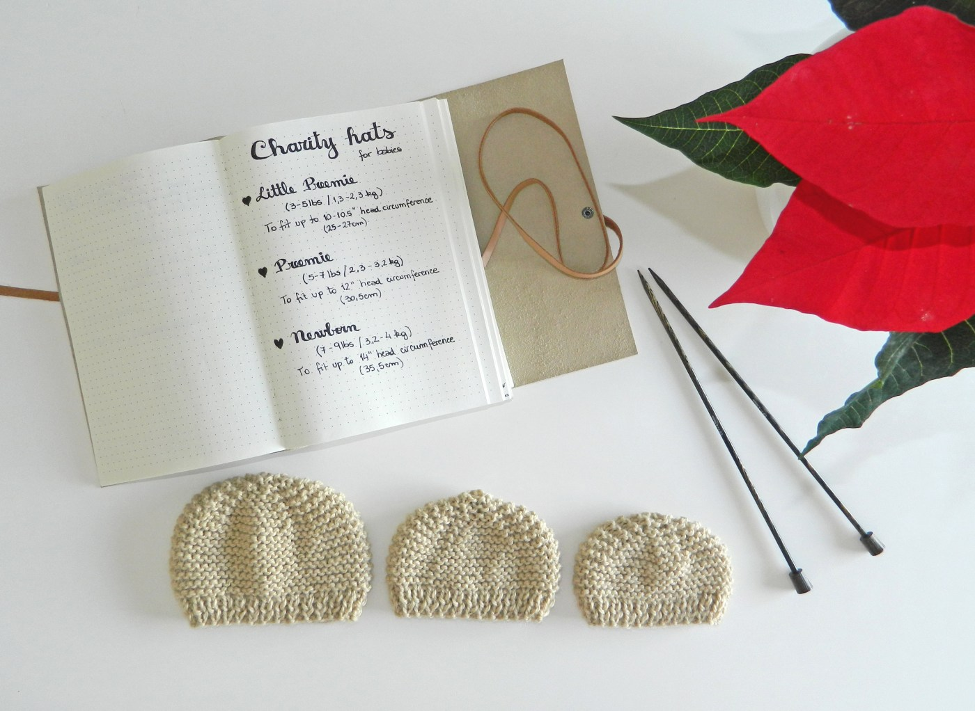 Charity knitting Hats for Babies free pattern (preemies and newborns)
