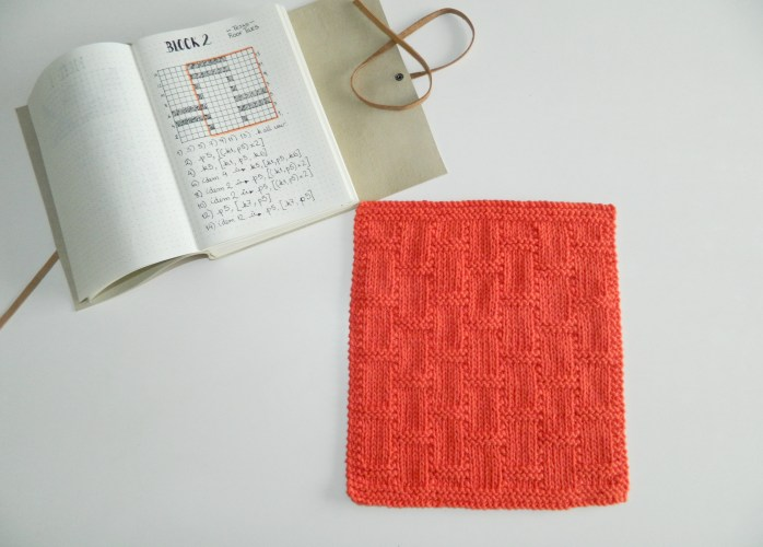 easy knitting pattern free dishcloth