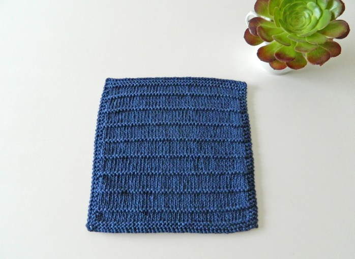 BREATHE extra block knitting pattern