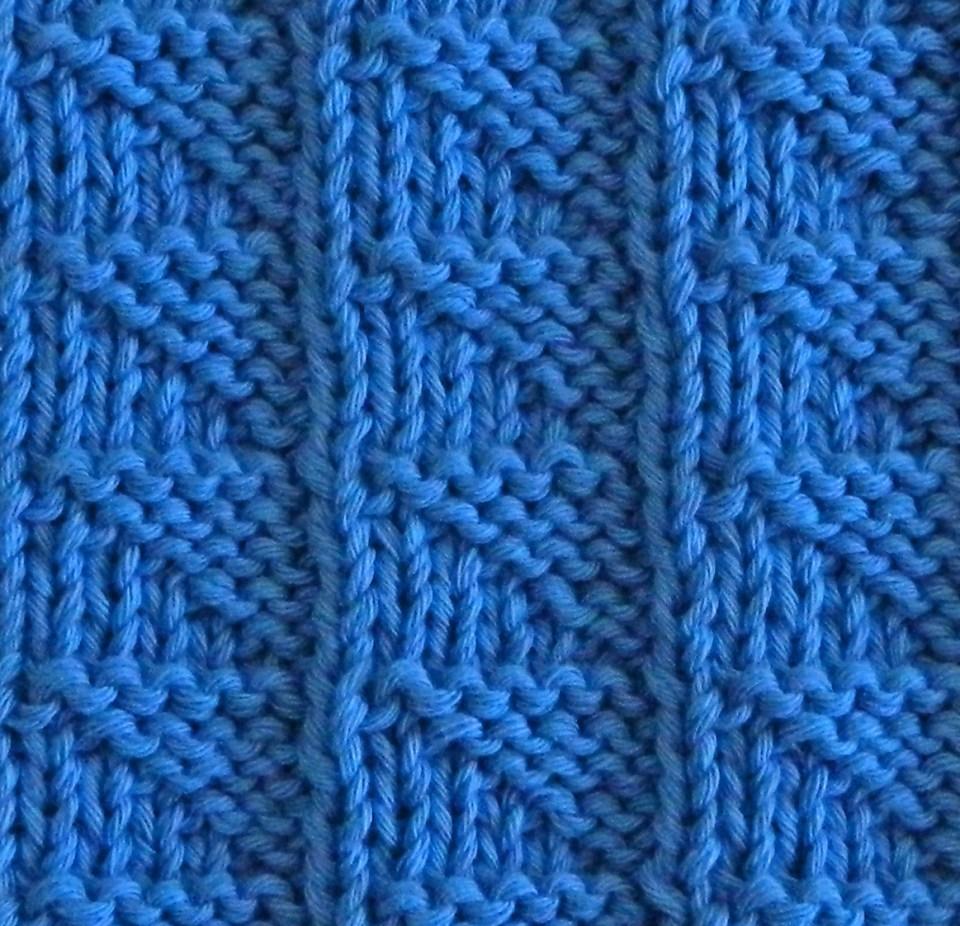 FLAGS knitting pattern FLAGS stitch pattern ohlalana
