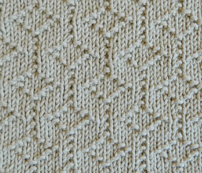 GEOMETRIC I stitch knitting pattern 52 SQUARE PICKUP knitted blanket GEOMETRIC knitting pattern OhLaLana dishcloth free pattern